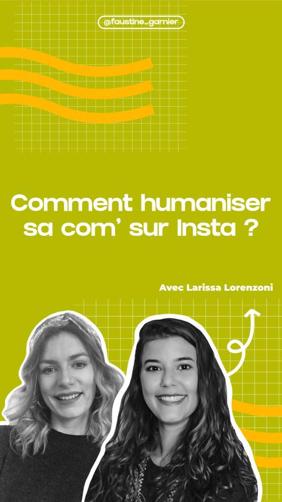 Comment humaniser sa communication sur Instagram ?